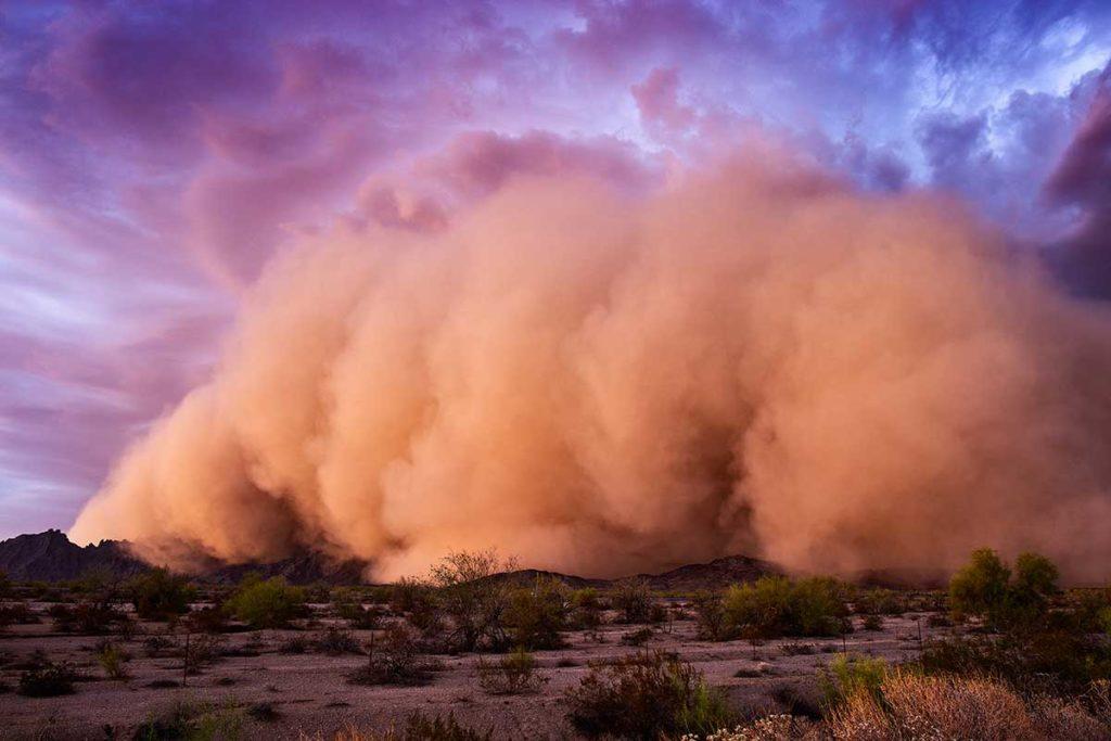 monsoon dust storm haboob