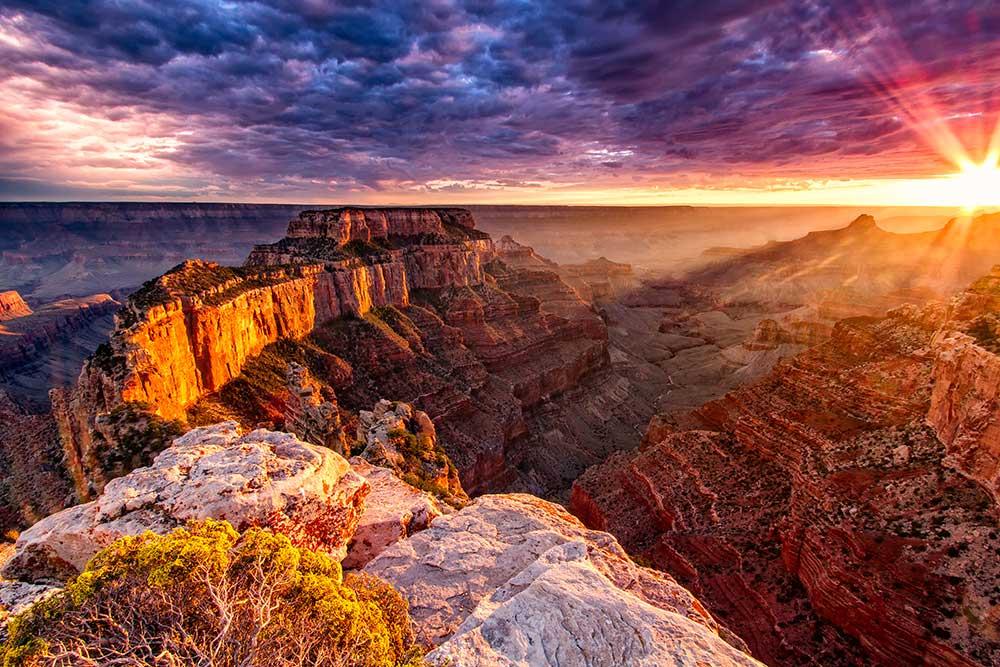 Grand Canyon National Park at susnet